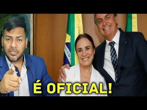 É Oficial! Regina Duarte Nova Secretaria da Cultura Ela Disse Sim