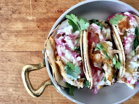 BLACKENED FISH STREET TACOS