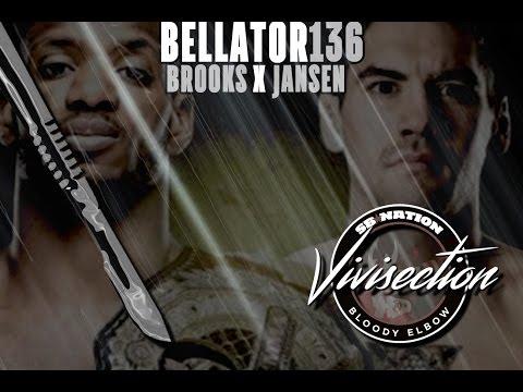 MMA Vivisection: Bellator 136 - Brooks vs. Jansen predictions, analysis, betting odds