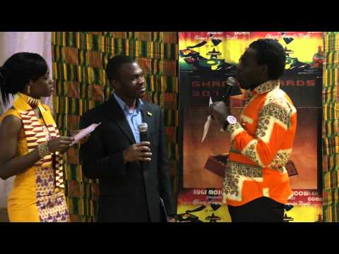 GHANA AWARDS(MOSCOW-RUSSIA)red carpet.MP4