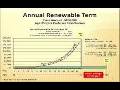 Annual Renewable Term Life Insurance