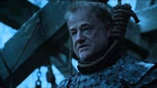 S6|E3 Game of Thrones - Jon Snow executes Alliser Thorne and Olly