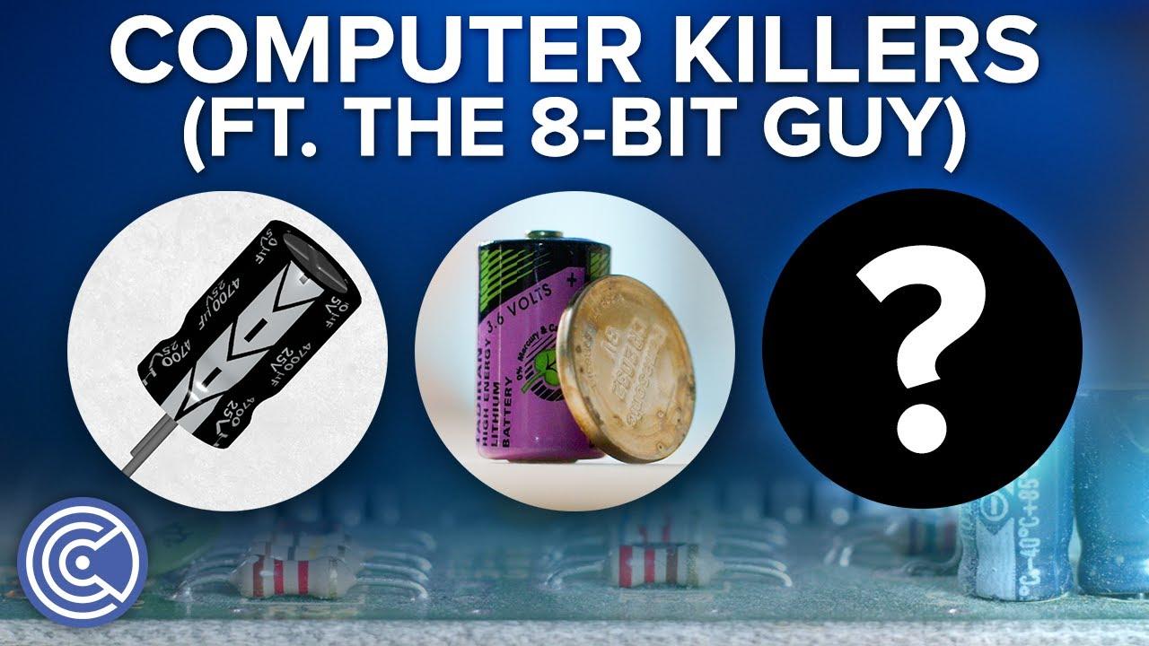 Why Do Computers Die? (ft. The 8-Bit Guy) - Krazy Ken's Tech Talk