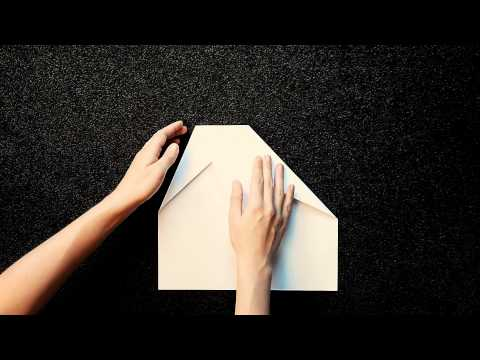 papierflieger bastel anleitung f r das rekordflugzeug. Black Bedroom Furniture Sets. Home Design Ideas