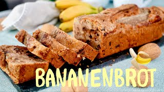 Saftiges Bananenbrot Ganz Einfach Selber Machen / Banana Bread /