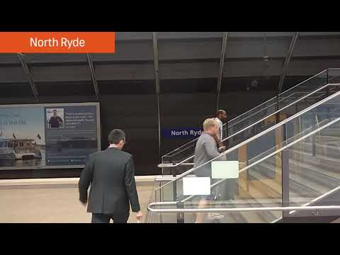 Sydney Trains Epping to Chatswood Rail Link Part 1