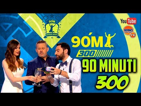 90 MINUTI 300 Real Madrid TV (17/05/2018) Especial 300 programas
