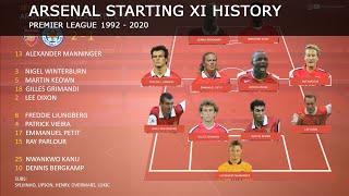 Arsenal Starting 11 History For Season Openers | 1992 - 2020 |
