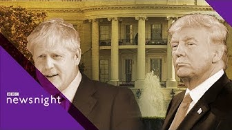 What role did Boris Johnson play in Sir Kim Darroch's resignation? - BBC Newsnight