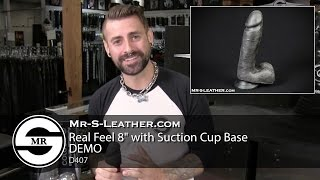 """Real Feel 8"""" with Suction Cup Base"""