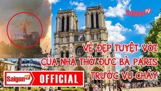 Nhà thờ Đức Bà Paris đẹp ngỡ ngàng trước khi c.h.á.y