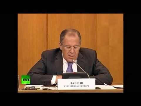 Russlands Außenminister Sergei Lawrow entlarvt die Heuchelei der USA und des Westens