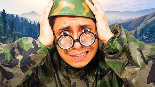 Drill Sergeant TROLLING in GTA 5! #3 (Boot Camp)