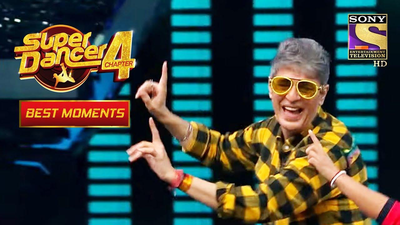 Download Chunky ने किया Dance Soumit की Mummy के साथ   Super Dancer 4   सुपर डांसर 4