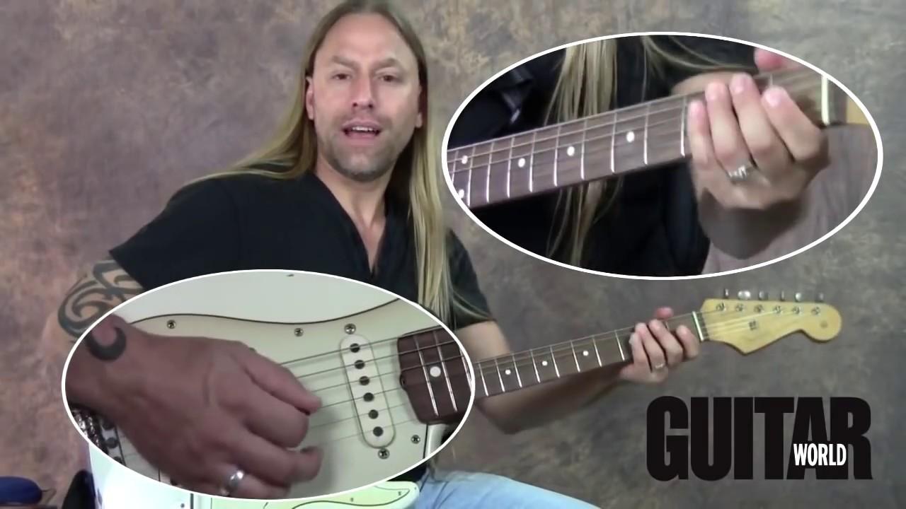 Download Steve Stine Guitar Lesson - #1 Trick to Killer Blues Guitar Solos