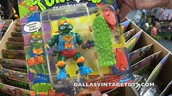 Dallas Vintage Toys HUGE TMNT HAUL! 80+ Carded Vintage Figures! 8/2/18