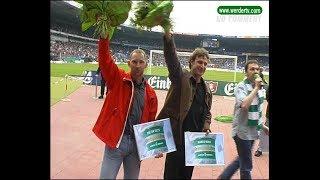 Bode und Eilts sind Ehrenspielführer  *Hünniger Werder TV 2003