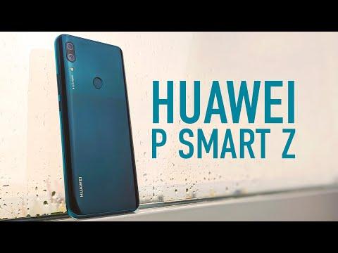 Первый взгляд на Huawei P Smart Z 2019