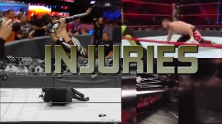 WWE ACCIDENTS, INJURIES AND SAVES!