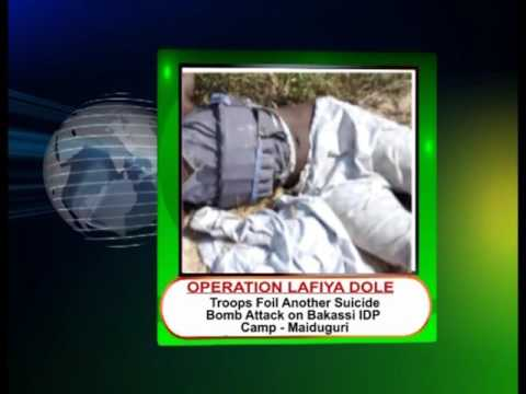 "Troops Foil Another Suicide Bomb Attempt On ""Bakassi"" IDP Camp Maiduguri"