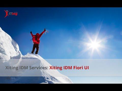 Anwendungsfreundliche SAP-Fiori-Oberflächen für SAP IDM mit den Xiting Fiori UIs (XIFI)