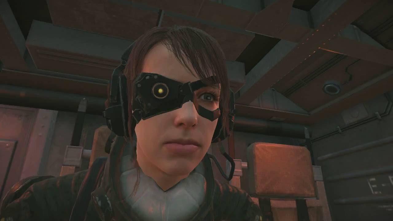 Metal Gear Solid V The Phantom Pain FOB Event Skull Quiet Mod