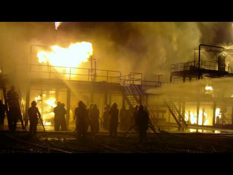 2011 Conocophillips Industrial Fire School Night Burns at FSA Elko Nv. 5