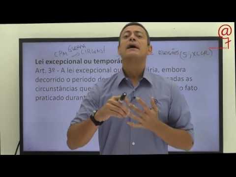 lei excepcional ou temporária - Direito Penal - André Queiroz -  1