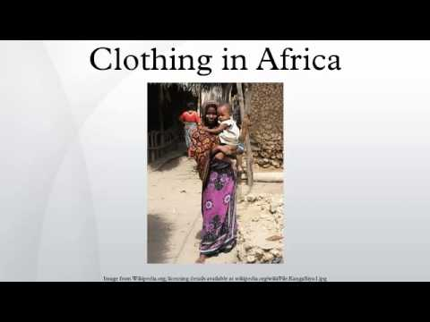 Clothing in Africa