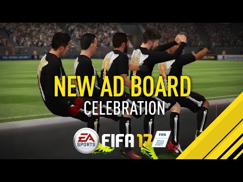 FIFA 17 | Amazing Ad Board Celebration
