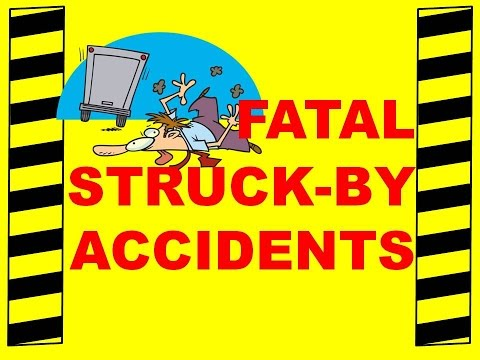 FATAL STRUCK-BY ACCIDENTS - SAFETY TRAINING VIDEO - WALKING TO WORK