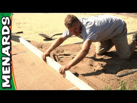 Prepare a Paver Base - How To ...
