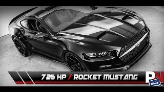 The 725HP Coyote V8 Galpin Fisker Mustang Rocket
