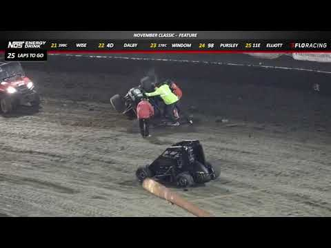 HIGHLIGHTS From USAC Midgets at Bakersfield Speedway