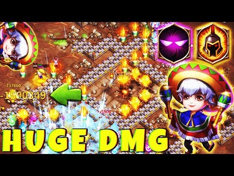 Lil Nick | 8 WG | 7 Unholy Pact | DMG TRAITS | BEAST !!! | CASTLE CLASH