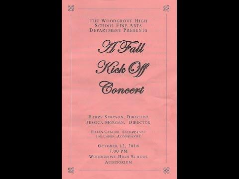 Woodgrove High School--Chorus Fall Kick Off Concert 10122016