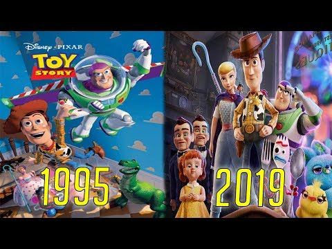 Evolution of Toy Story Movies, Cartoons & TV (1995-2019)