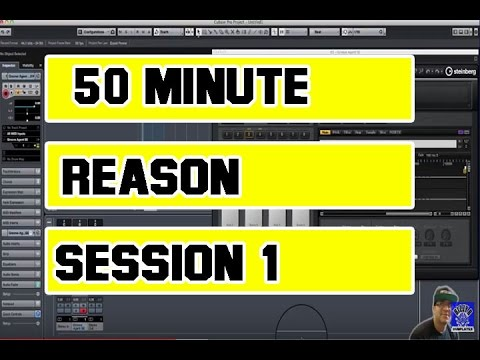 Reason 5 dnb tutorial.