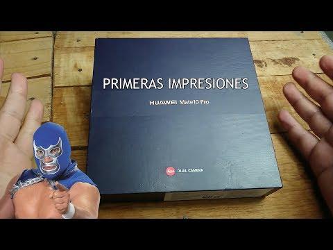 Huawei Mate 10 Pro : Primeras Impresiones...  BLUE DEMON! MEXICO!
