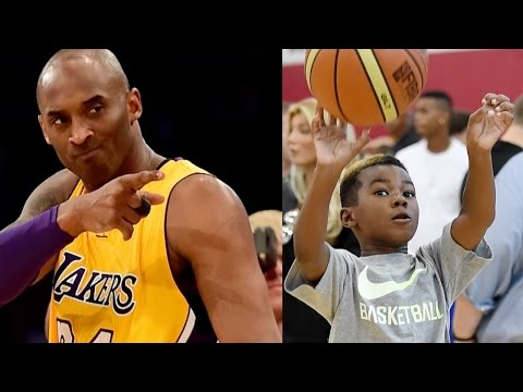 Kobe Bryant Wants to TRAIN LeBron James Jr: