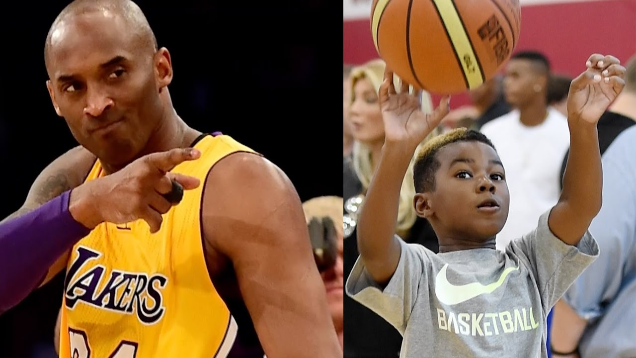 Kobe Bryant Wants To Train Lebron James Jr I Ll Fix Him