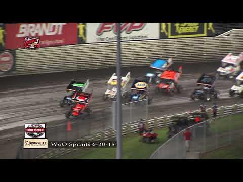 Knoxville Raceway WoO Highlights - June 30, 2018