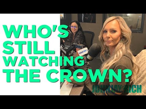 In-Studio Videos - Are Johnjay and Kyle The ONLY People Watching The Crown?!?!