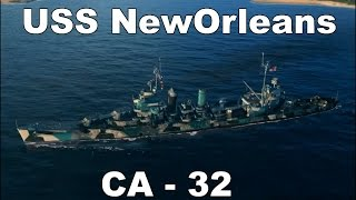 World of Warships - USS New Orleans CA-32