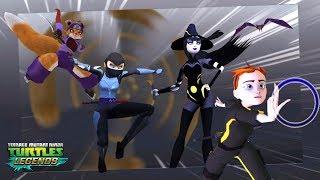 4 Girls VS 6 BIG BOSSES - Teenage Mutant Ninja Turtles Legends