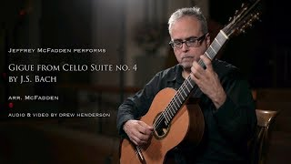 JS Bach, Gigue from the 4th Cello Suite
