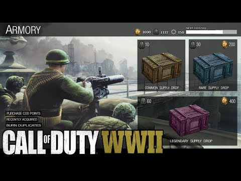 The Truth About Supply Drops In Call of Duty World War 2