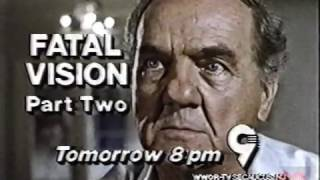 Fatal Vision Part Two | Promo | 1989 | WWOR 9 New Jersey