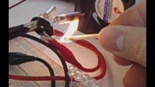 Sensor de llama de fuego casero, flame sensor at home - www.LEDFACIL.com.ar