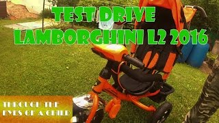 Ivan's Test Drive - Детский велосипед Lamborghini L2 2016